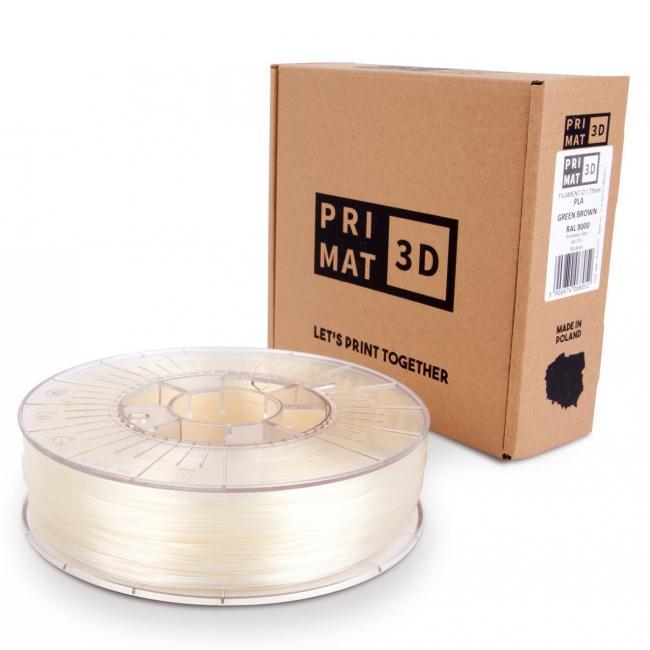 Pri Mat filament in natural, transparent, box