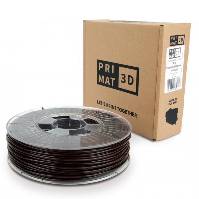 3df filament in chocolate brown, schokoladen braun box