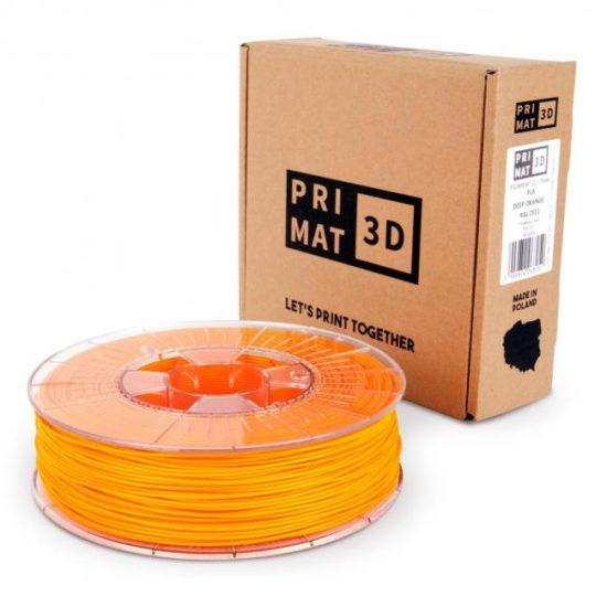 3df filament in deep orange, box