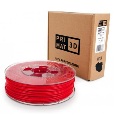 3df filament in signal red, signal rot, box