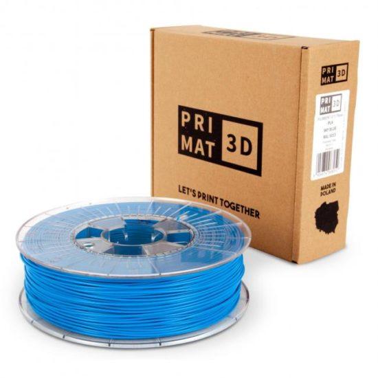 3df filament in green brown, Sky blue, Himmel blau, box