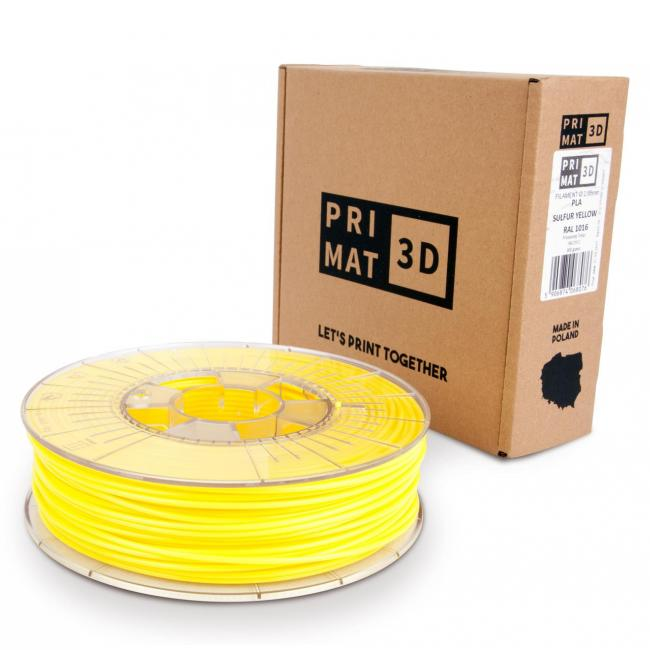 3df filament in Sulfur Yellow, Schwefel gelb, box