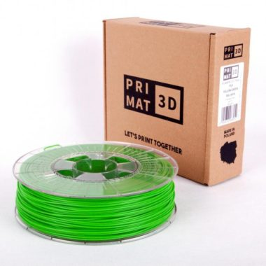 3df filament in yellow green, gelb grün, box
