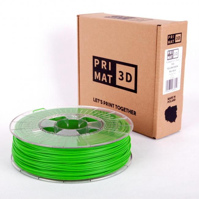 3df filament in yellow green, gelb grün, box