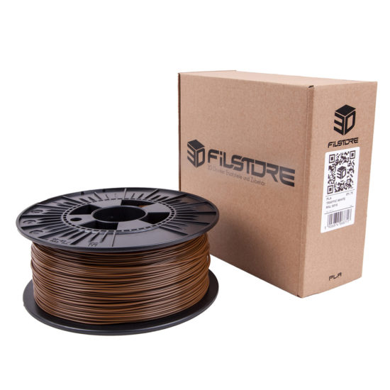 3df filament in haselnuss braun, hazel brown