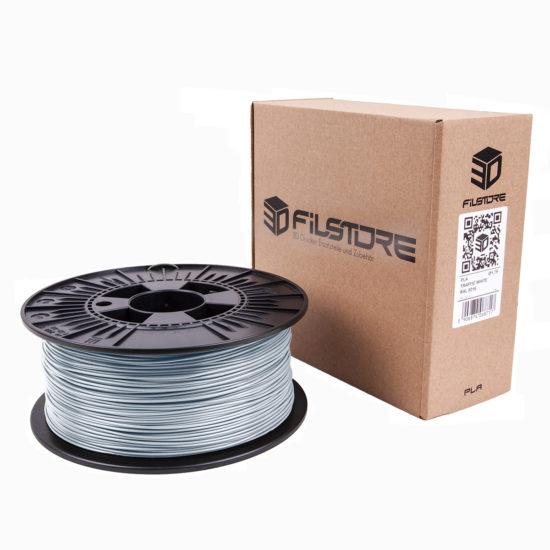 Produktbild 3DFilstore PLA Metal Grey