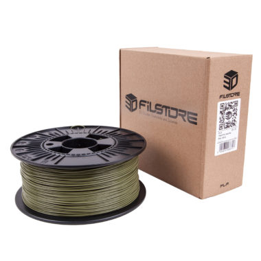 3df filament in reed green, schilf grün box