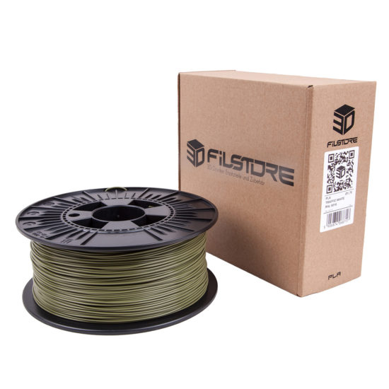 3df filament in reed green, schilf grün box