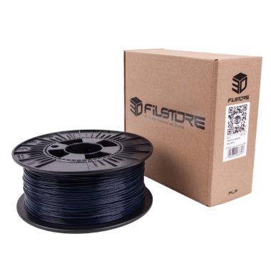 3df filament in stahl blau, steel blue, box