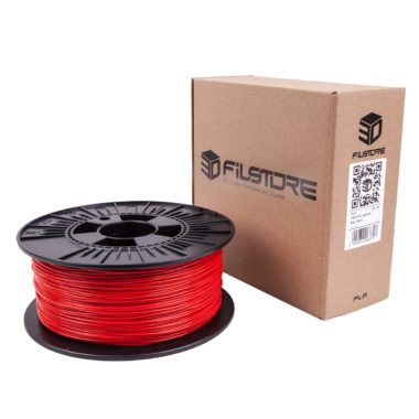 3df filament in traffic red, signal rot box