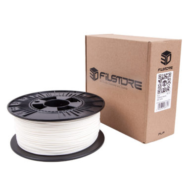 3df filament in traffic white, weiss box
