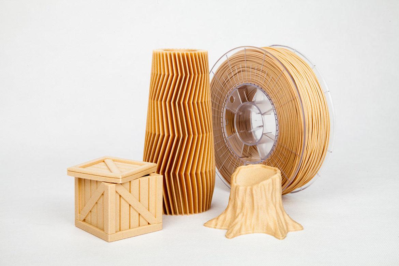 Echtholzfilament Holz