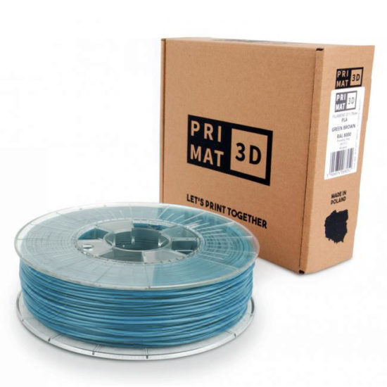 3D Druck Filament in Pastell blau, pastel blue