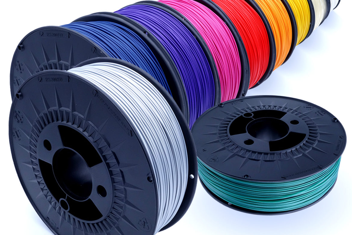 Swissmade Filaments Colours in Line