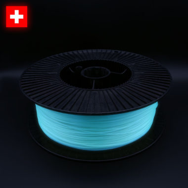 3DFilstore PLA Glow In The Dark Blue