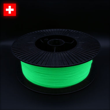 3DFilstore PLA Glow In The Dark Green