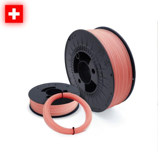 3D-Filstore Swissmade PLA Glow In The Dark Red nach Mass