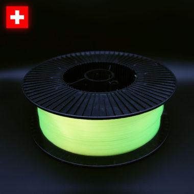 3DFilstore PLA Glow In The Dark Yellow