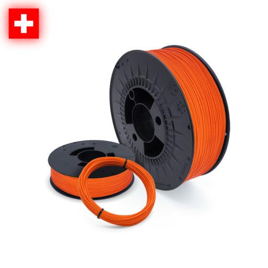 3DFilstore Swissmade PLA Neon Orange auf Mass