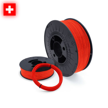 3D-Filstore Swissmade PLA Neon Red auf Mass