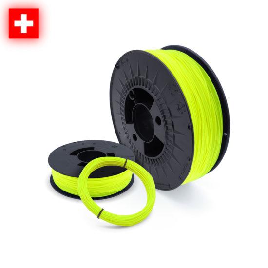 3D-Filstore Swissmade PLA Neon Yellow nach Mass