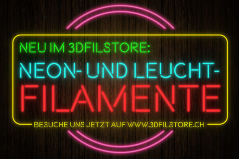 Filament-Promo Leucht- und Neoneffekt