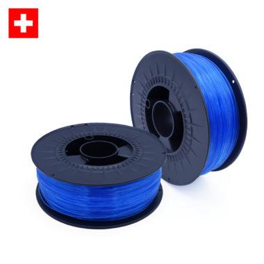 PETG Transparent Blue, blau