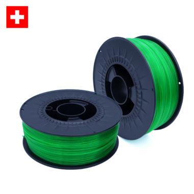 PETG Transparent Green, grün