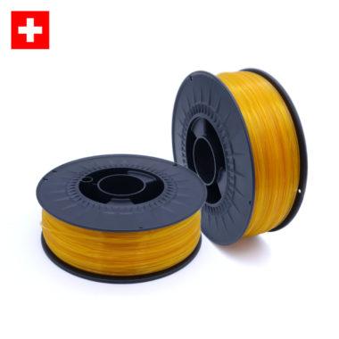 PETG Transparent Yellow, durchsichtig gelbes filament