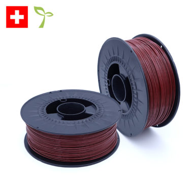 GreenFil Swiss Made BioTEC Wine Red, weinrotes Biofilament