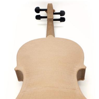 3d gedruckte Geige, 3d printed violin, back