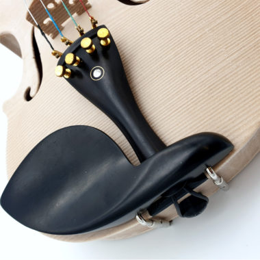 3d gedruckte Geige, 3d printed violin, kinnhalter,