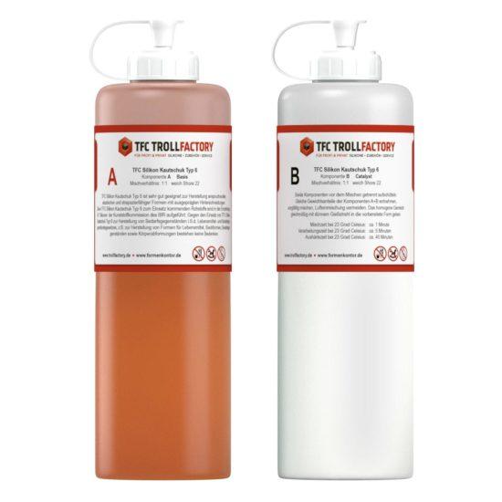 TFC Dubliersilikon Typ 6 Aprikot lebensmittelecht