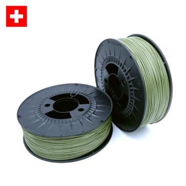 3D-Filstore Swissmade PLA in Reed Green, Schilfgrün