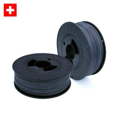 3D-Filstore Swiss Made PLA 1.75 Iron Grey, Eisen Grau