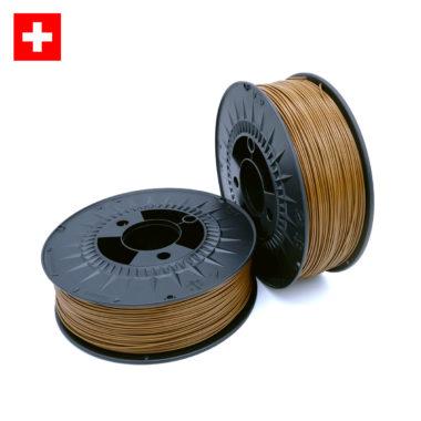 3D-Filstore Swiss Made PLA Hazel Brown, haselnuss braun