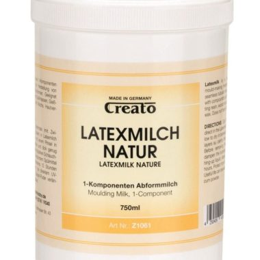 Creato Latexmilch Natur 750ml, hautverträglich