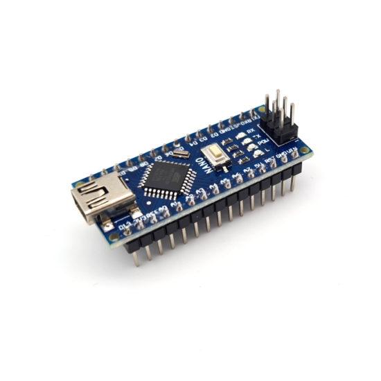 ATMEGA328P Nano, Arduino komplatible Platine