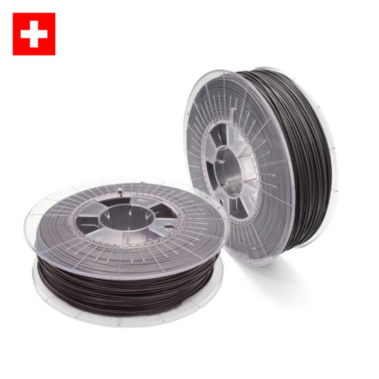 3D-Filstore Swiss Made Recycling PLA 1.75 in grau