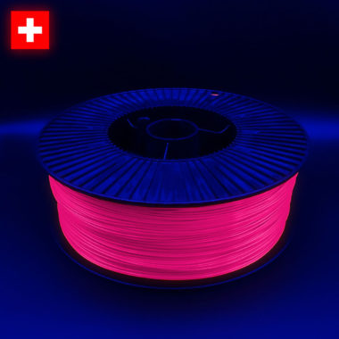 3DFilstore PLA Neon Pink, Massfilament