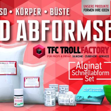 TFC Abformset Alginat 3D Körper Torso