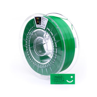 Print With Smile Premium PETG Green Filament, 1.75 PWS, grün