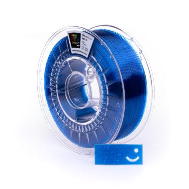 Print With Smile Premium PETG Lagoon BLue Filament, 1.75 PWS, transparent blau