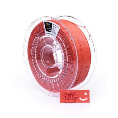 Print With Smile Premium PETG Orange Filament, 1.75 PWS, orange