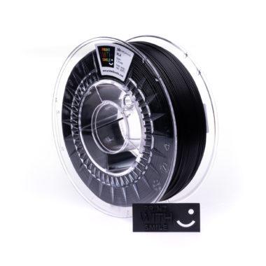 Print With Smile Premium PLA Satin Black Filament, 1.75 PWS, satin schwarz