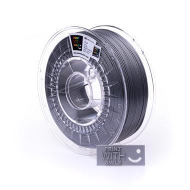 Print With Smile Premium PLA silver Filament, 1.75 PWS, silber