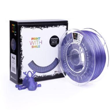 Print With Smile Premium Satin PLA Viollet violet 1.75